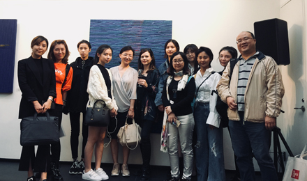 ESMOD北京学生参观土耳其画展