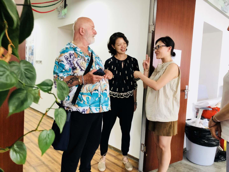 ESMOD奥斯陆校区校长到访ESMOD北京分校