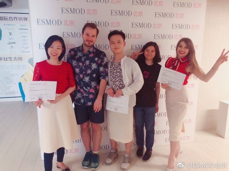 ESMOD北京短期研修班 第一期结课